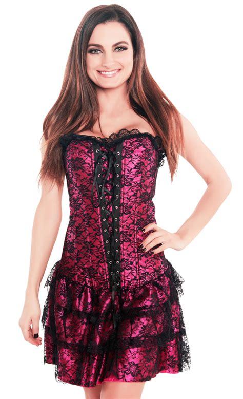 Best Seller Dress Pink Necklace Tmc s pink lace overlay corset dress s