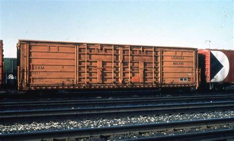 loam   door boxcar louisiana midland railway