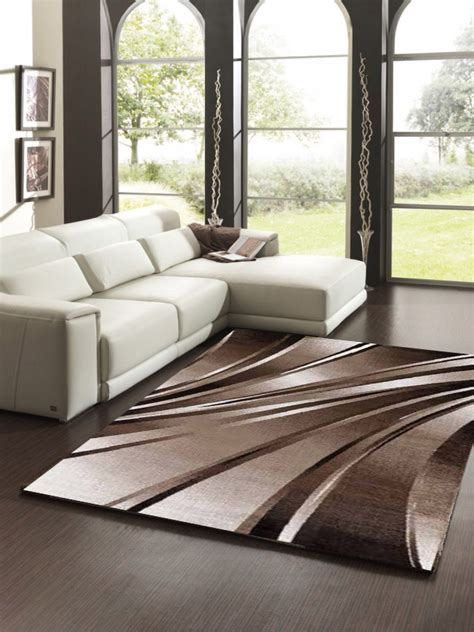 Grand Tapis Pas Cher 1847 by Tapis Tendance Vintage Brun Taupe