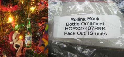 rolling rock beer openers key rings bottle holders