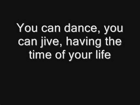 printable lyrics dancing queen abba abba dancing queen with lyrics youtube