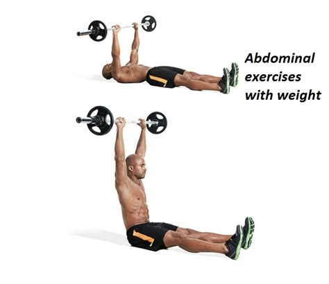15 best and especial abdominal exercises with weight