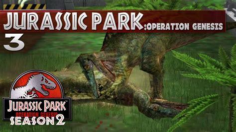 jurassic park operation genesis jurassic park operation genesis 3 baryonyx fight