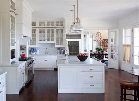 Coastal Kitchen Cabinets Traditional Nantucket Cottage With Coastal Interiors Home Bunch Interior Design Ideas