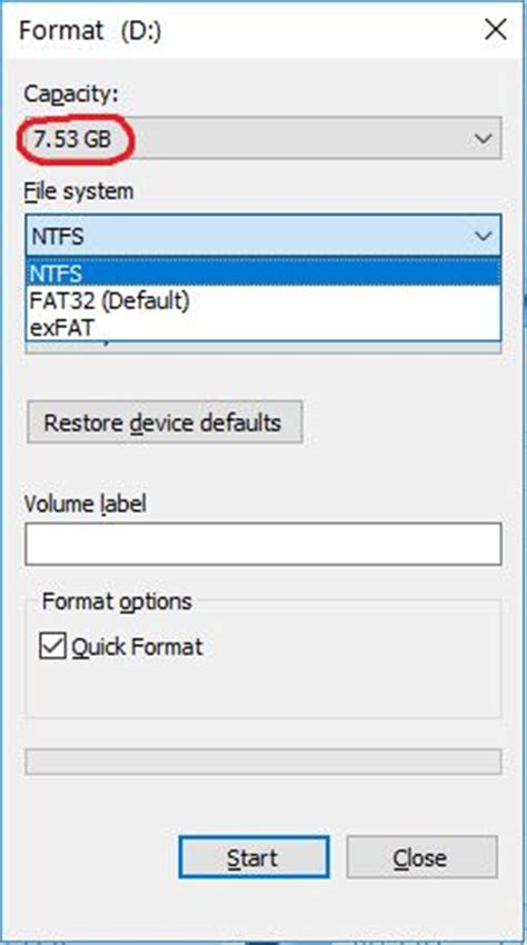 fat32 format a usb drive format usb flash drive to fat fat16 not fat32