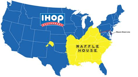 chicago waffle house map do you live in ihop america or waffle house america black truth news