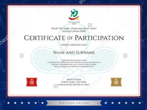 sports award certificate template sports certificate blue simple sports