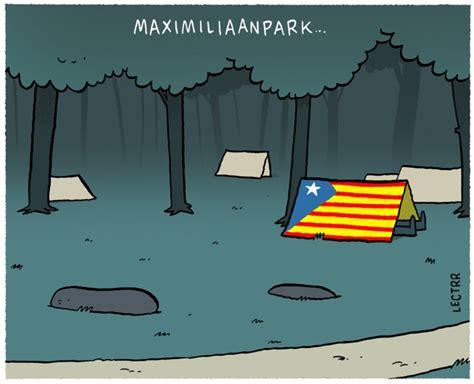 puigdemont hasselt cartoon van de dag oktober 2017 de standaard