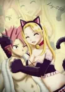 Fairy tail natsu and lucy kiss scene natsu x lucy meow by liz 050
