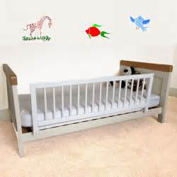 bed guard safetots wooden bed rail children s bed guard white ebay