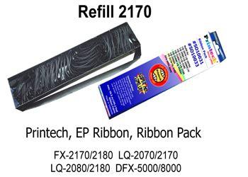 jual printech ribbon pack refill 2170 2180 pita printer