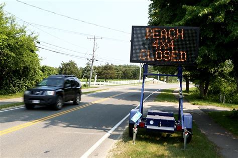 Chappaquiddick General Store Ttor Limits Cars On Norton Point Due To Safety Concerns Martha S Vineyard Times