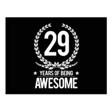 29th Birthday Gifts on Zazzle
