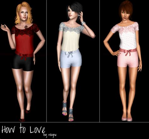 my sims 3 blog lovers my sims 3 blog how to love outfit by rayne