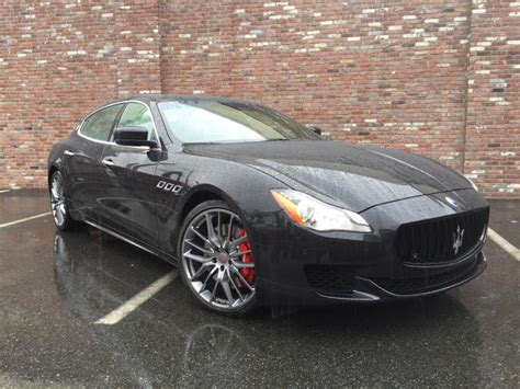 maserati quattroporte 2015 black 2015 maserati quattroporte photos informations articles