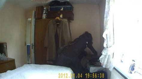 bedroom hidden camera heartless thief caught stealing from 89 year old relative