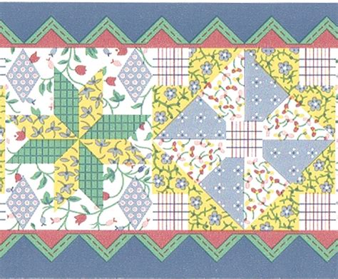 blue quilt wallpaper blue country patchwork floral flower quilt patches stiches