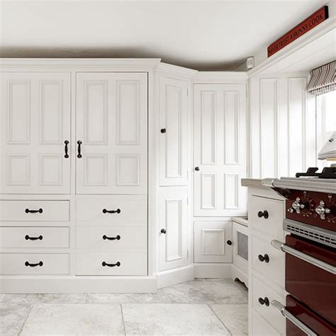 Country Kitchen Larder Cupboard white country kitchen with larder cupboard decorating housetohome co uk