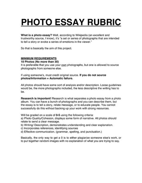 Photo Essay by Photojournalism Essay Exles