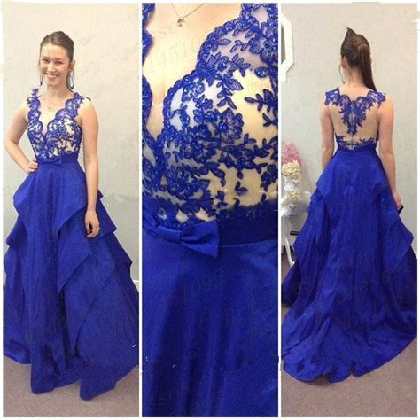 blue puffy prom dress online buy wholesale blue puffy prom dress from china blue