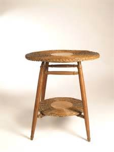 top wicker dining table antique vintage heywood wakefield round natural wicker side accent