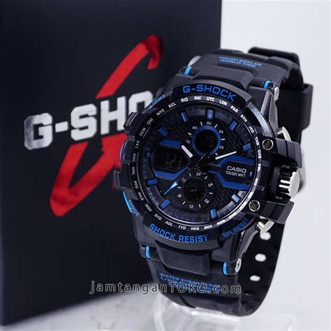 G Shock Gwa 1000 Black Blue gambar kelengkapan g shock x factor kw1 gwa 1000 black