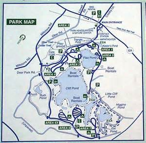 state park map nickerson state park cground cape cod ma