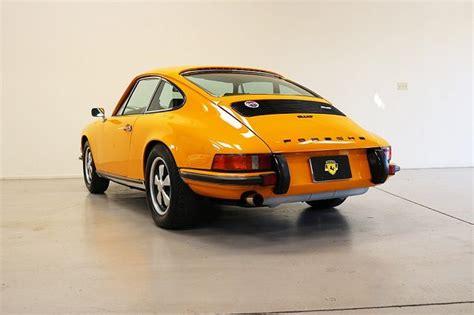 porsche signal yellow signal yellow 1973 porsche 911t coupe german cars for