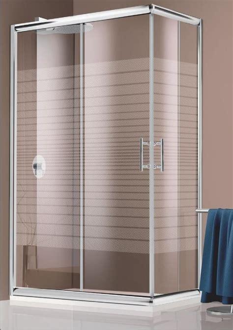 cabina doccia in cristallo box doccia cristallo 6 mm 2 lati apertura scorrevole