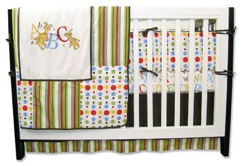 dr seuss crib bedding set green nursery for your baby itsy bitsy baby mall