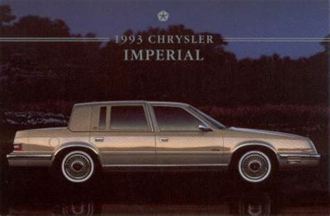 auto repair manual online 1993 chrysler imperial head up display service manual 1993 chrysler imperial chassis manual service manual 1993 chrysler imperial