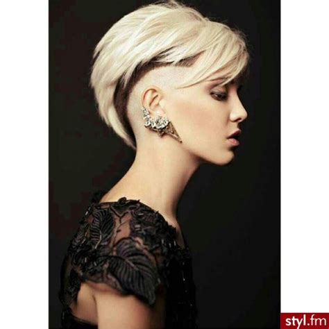 what hairstyles can be done with a bald spot in the top of head bardzo kr 243 tko bardzo trendy kr 243 tkie fryzury damskie