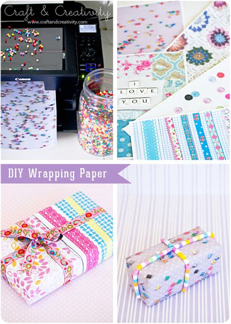 Wrapping Paper Craft - g 246 r ditt eget presentpapper diy wrapping paper craft