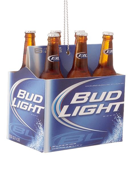 6 pack of bud light bud light 6 pack ornament his and hers