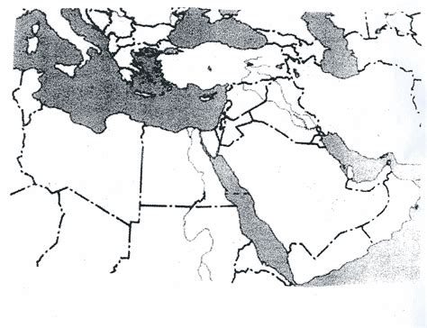mid east map blank blank map of the middle east with rivers