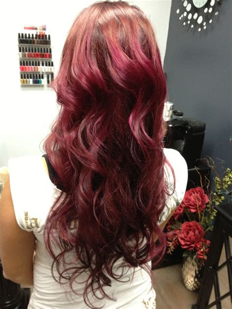 wine color hair wine hair color brown hairs
