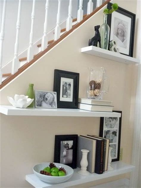 decorating with floating shelves best 25 stair decor ideas on pinterest stair wall decor