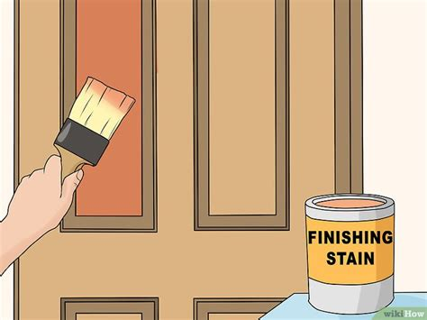 come pulire le porte in legno come pulire le porte di legno 10 passaggi illustrato