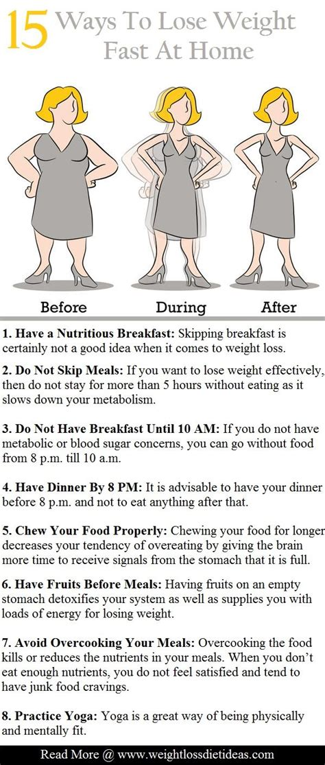 15 proven ways to lose weight fast at home living a