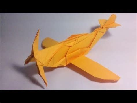 How To Make A Paper Spitfire - origami messerschmitt bf 109k jose chaquet