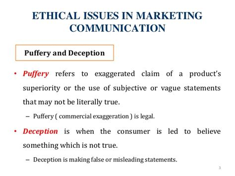 Ethics In Media Communications ethical social issues in marketing communication