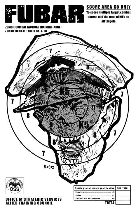 printable headshot targets in the navy ww2 us navy zombie targets steve becker