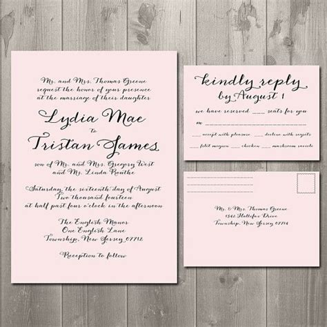 wedding invitation reply card template wedding invitations with rsvp cards theruntime