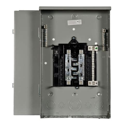 outdoor electrical panel siemens pl series 200 amp 8 space 16 circuit main lug