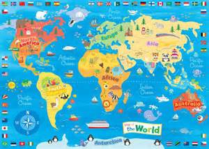 Map Of The World For Kids by 40 Creative Remakes Of The World Map Hongkiat