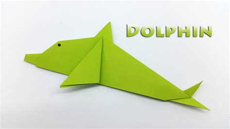 How To Make A Dolphin Out Of Paper - origami dolphin for how to make a paper dolphin