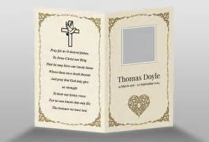 funeral card templates free free memorial card template in indesign format