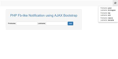 bootstrap notify tutorial php facebook like notification using ajax bootstrap free