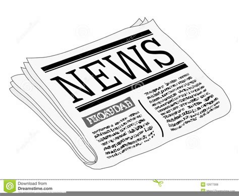 newspaper clipart free clipart newspaper headline free images at clker