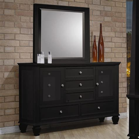 black bedroom furniture set coaster free